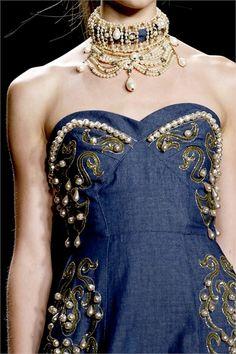 Anna Sui S/S 2013 - Details