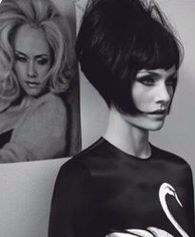 Very stylish 1960s hair