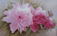Купить Цветной сон (розовые пионы) - розовый, пионы, цветы, картина в подарок, картина для интерьера