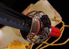 HIGH QUALITY 1095 CARBON STEEL JAPANESE SAMURAI MARU SWORD KATANA 2