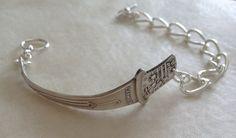 Danmark Souvenir Spoon Bracelet by georginabaker on Etsy, $35.00