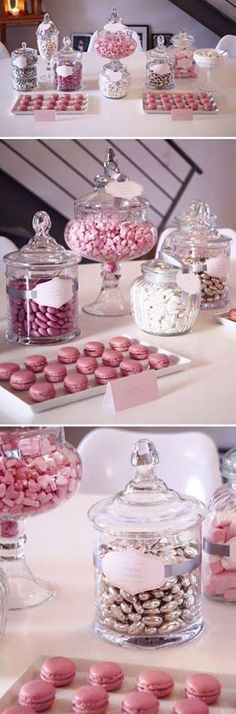 Sweets table for baby shower