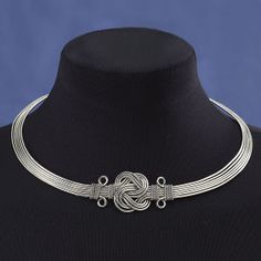 Celtic Knot Collar Necklace - New Age, Spiritual Gifts, Yoga, Wicca, Gothic, Reiki, Celtic, Crystal, Tarot at Pyramid Collection