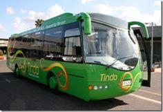 Tindo solar-powered bus in Adelaide | via Alternative Fuels Australia