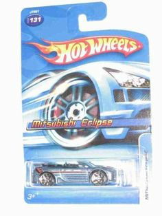 #2006-131 Mitsubishi Eclipse Collectible Collector Car Mattel Hot Wheels 1:64 Scale by Mattel. $4.99. Great Investment For Any Hot Wheels Collector.. Diecast Metal Hot Wheels Car Perfect For That Hot Wheels Collector!. Fun For All Ages! Serious Collectors And Kids Alike!. Perfect Hot Wheels Diecast for every collector!. A Perfect Addition To Any Hot Wheels Collection!. #2006-131 Mitsubishi Eclipse Collectible Collector Car Mattel Hot Wheels