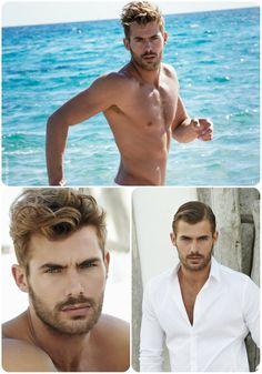Coiffure homme 2018 - Franck Provost Eye Color, Hair Color, Jacey Elthalion, Franck Provost, Hot Hunks, Bearded Men, Male Models, Sexy Men, Hair Cuts