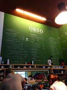 Orso Laboratorio Caffè