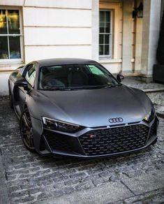 Rate This Matte Black Audi 1 to 100 - Cars - Auto Luxury Sports Cars, Top Luxury Cars, Cool Sports Cars, Sport Cars, Audi R8 Preto, Audi R8 Negro, Audi R8 Schwarz, Audi R8 Black, Supercars