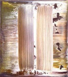 Gerhard Richter. Abstract Painting 1995. 41 cm x 36 cm. Oil on canvas Catalogue Raisonné: 834-5