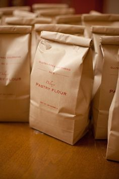 No. 2 Deluxe Pastry Flour with Organic Grains 24 oz/680g. $11.00, via Etsy.