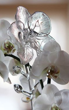 Waterford Fleurology Orchid Flower very pretty crystal classics.com