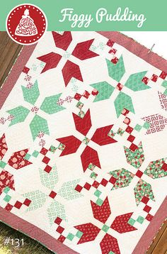 Figgy Pudding free quilt pattern