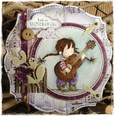 "Crafty Lou's Small World.: LOTV...new release ""Annabel"" blog hop."