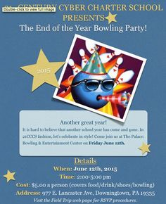 End of the Year Bowling Party!!