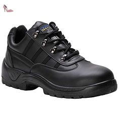 Portwest Hommes PORTWEST Compositelite Safety Boot S1 Black FC21