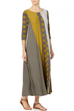Alembika Jersey Panel Dress