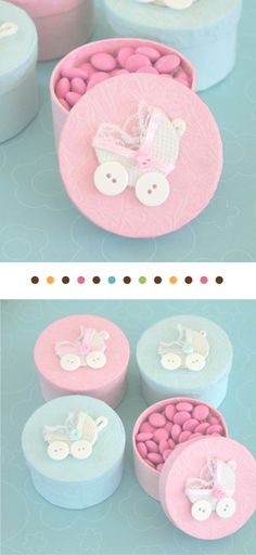 Baby Shower Favor Boxes http://www.hotref.com/Handmade-Baby-Carriage-Boxes-p-7188.html