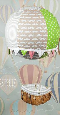 Adventskalender Ballon zum Türchen ranhängen - Anleitung via Makerist.de