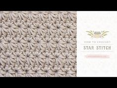 How To: Crochet The Star Stitch | Easy Tutorial by Hopeful Honey - YouTube