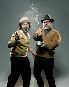 Tenacious D. Love Jack Black, so funny! Kyle Gass, Tenacious D, Celebrity Photography, Portrait Photography, New Backgrounds, Funny Bunnies, Jack Black, Photoshoot Inspiration, Funny People