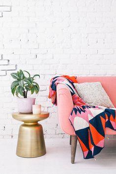 pink couch | designlovefest studio