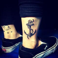 65 Tatuagens de Âncora Belíssimas e Inspiradoras