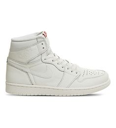 cheap for discount dd7b2 6a9c1 NIKE Air Jordan 1 Retro leather high-top sneakers.  nike  shoes