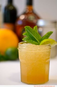 Beach Bum Cocktail Recipe - 1 part orange juice, 1 part Bacardi Limon rum, and 1 part Sprite