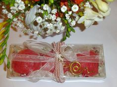 Pink Roses, Elegant OOAK Gift Set for Women, Luxury Royalty Scented Soaps, Handmade Jewelry Necklace, Affordable Birthday Gift, Party Gift