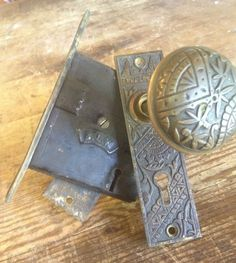 Door Knob, Mortise, Eastlake from Black Dog Salvage