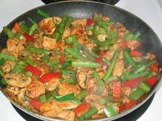 """""""un-chinese"""" stir fry - we took out the green beans and used asparagus. it was great."""