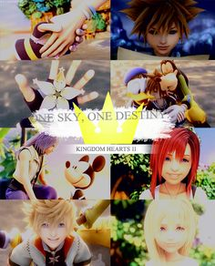Kingdom Hearts II.  This is one of my favorite games that I ever played!