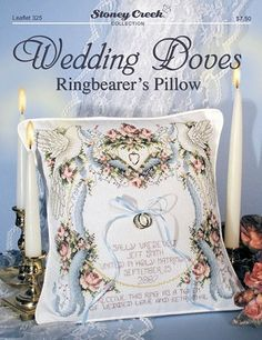 Ravelry Hearts Desire Ring Bearer Pillow pattern by Kathryn