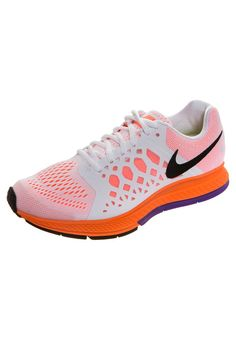 Nike Performance - ZOOM PEGASUS 31 - Løpesko med demping - white/orange/hyper grape