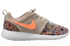 Nike Womens Roshe Run Aloha | Blue&Cream