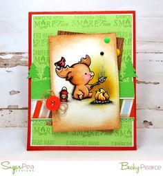 SugarPea Designs EASILY A'MOOSE'D stamp set, die