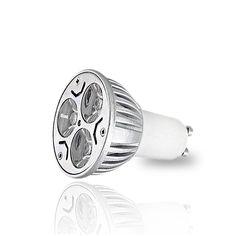 Αν ενδιαφέρεστε για αυτό το προϊόν επικοινωνήστε μαζί μας LED+Σποτ++GU10+3x1+Watt+Θερμό+Λευκό Led