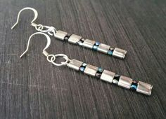 Check out this item in my Etsy shop https://www.etsy.com/listing/262486300/palladium-tila-bead-earrings-tila-bead