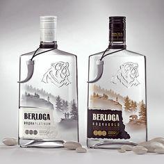 20 diseños creativos de botellas de bebidas alcohólicas | La criatura creativa