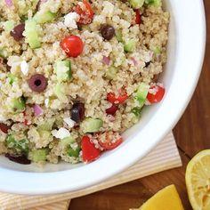 Image for Mediterranean Quinoa Salad