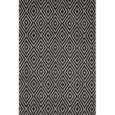 Obadiah Hand-Tufted Black/Cream Area Rug & Reviews | AllModern