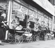 Our mothers could leave the babies outside the shops in their  prams!!!!!!!!