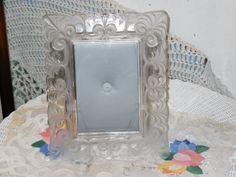 Pretty Crystal Frame by Daysgonebytreasures on Etsy, $18.00https://www.etsy.com/listing/184535033/pretty-crystal-frame