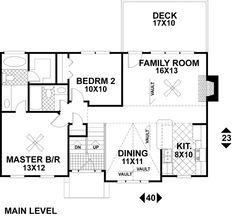 House Plan chp-17916 at COOLhouseplans.com