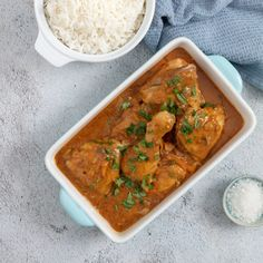 Fiery chicken curry to feed a crowd. Chakalaka Recipe, Meat Recipes, Chicken Recipes, Dinner This Week, Fresh Coriander, Feeding A Crowd, Chicken Curry, Winter Food, Rhodes