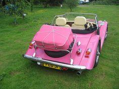Morgan Sports Car At Melvyn Rutter, A Factory Main Dealer - Melvyn ...