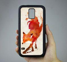 Fox Samsung Galaxy S4 Case Samsung Galaxy S5 Case by kimiSupply, $7.99