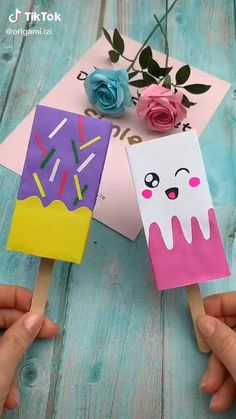 Diy Crafts Hacks, Diy Crafts For Gifts, Diy Home Crafts, Creative Crafts, Fun Crafts, Diy Projects, Project Ideas, Kawaii Crafts, Easy Arts And Crafts