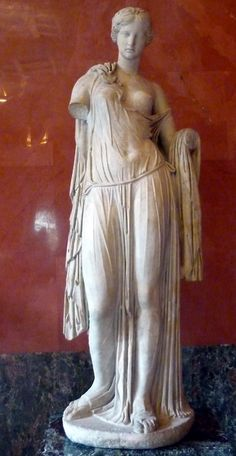 Aphrodite, Roman copy of Greek work of 4th-2nd century BCE. Hermitage Museum, via TheAncientWorld.