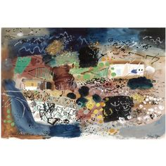 an almost mystical John Piper landscape